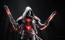 Reaper glows in the dark