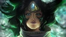 Sivir was once on the brink of death, but was healed by the waters of the Oasis of the Dawn.
