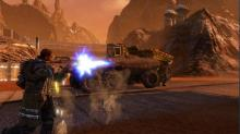 Liberate Mars for the workers in Red Faction: Guerrilla Re-Mars-tered.