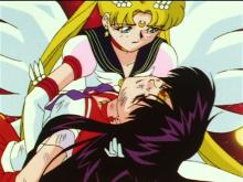 In the manga or anime or live-action, Rei and Usagi have an interesting relationship whether teasing her or pushing her to better these two girls, have a special bond. Rei's death was the tipping point for Eternal Sailor Moon, hearing her voice push her to not stop.