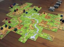 Recreate the the great city of Carcassonne with this board game.
