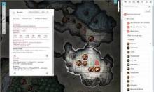 Example of a D&D online service
