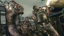 Jump into action in Resident Evil 5