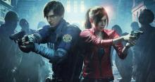 Resident Evil 2 Remake, Leon, Claire,  RPD, Umbrella.