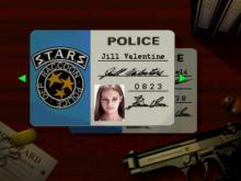 Resident Evil - Jill's police ID card.