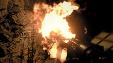 In Resident Evil 7, sometimes the only thing that will kill a zombie, is a nice, big bonfire.