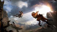 Kled and Skaarl reunite on the battlefield.