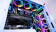 I think it's a safe bet to say this guy likes RGB.