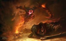 The darkin weapon will bring ruin if Kayn cannot keep him at bay.