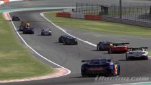GT3 cars racing around the greatest track of them all. Spa.