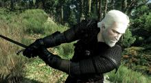 Geralt's using that armor to its fullest.