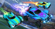 Cars and soccer--who would've thought? Try out this exciting combo in Rocket League.