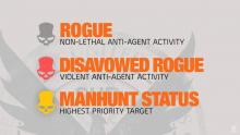 Rogue Agent in The Division 2.