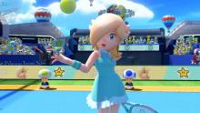 Mario Tennis Aces Rosalina takes to the net