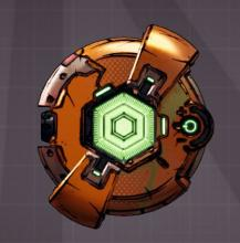 The rough rider is a shield that is a capacity of 0 and essentially doesn't exist. So it just boosts your heath instead. This shield works well for high health regen builds that synergize with broken shields.