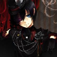 Ciel is all decked out in  his finest