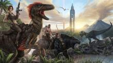Ride dinosaurs, upgrade you armor and weapons, an have fun!
