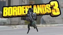 Legs sprouting gun