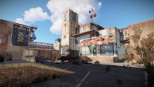 The outpost in Rust is a new monument.