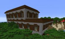 This seed starts you next to a woodland mansion with rare loot