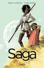 From Image, Saga is a breathtaking story not to be missed