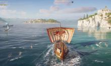 Explore ancient Greece on foot or on sea in AC: Odyssey.