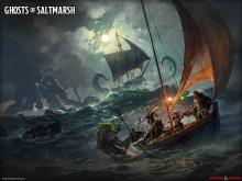 This set of classic nautical-themed adventures has been updated to 5th edition.
