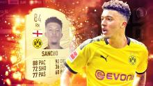 Sancho is on fire this season.