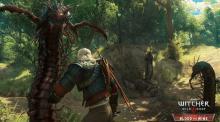 Geralt plays exterminator.