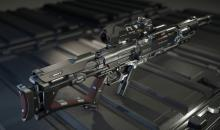 Need more range? Grab one of several sniper rifles in game.