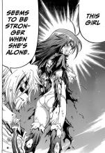 Medaka is more than strong enough to face any challenges on her own.