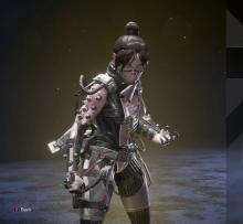 Wraith's Void Specialist Skin is one of the only items in the game that's pink.