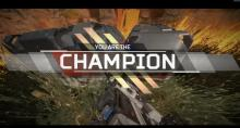 The Champion always uses the best attachments in the game.