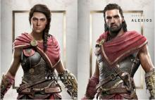 In Assassin's Creed Odyssey, you have the choice of whether you play as Kassandra or Alexios
