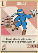 Sneak attacks with a melee weapon do 2.3x normal damage.