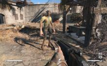 The same character bug shown in Fallout 4