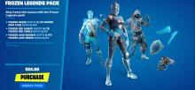 Frozen versions of normal skins!