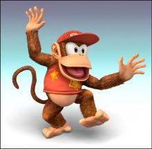 Diddy Kong first came to Smash in Brawl