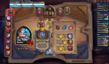 AFK is a good pick, this player is using the HS Deck Tracker.