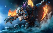 Keep Slark and Slardar together, both creatures of the sea, and they could raise waves in lane together. Aka - destroy the enemy.