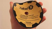 Bethesda sends you a cardboard disk with the power armor edition.