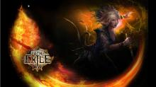 Close up of scion art in Path of Exile