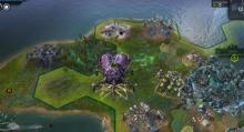 Winning a Science victory opens the option to continue your game in Civ Beyond Earth.