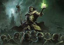 A necromancer with an army of undead. Having your own army also works