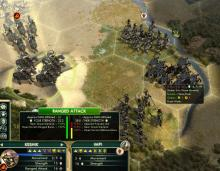 The Zulu Impi face off against Mongolian Keshiks