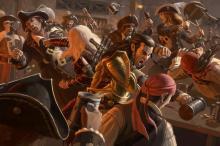 A classic barfight