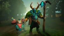 Furion is never alone, as his Nature's Call summons cute treants that follow him around.