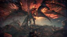The poison elder dragon, Vaal Hazak