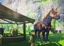 The Giant Horse really towers over everything