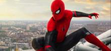 A screenshot from Spider-Man: Far From Home